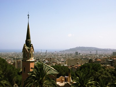 AUTH - Barcelona city centre from Park Guell