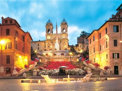 AUTH - ITA - Rome Spanish Steps