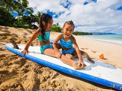 AUTH - Hawaii - kids on beach