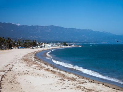 AUTH - USA - CALIFORNIA - SANTA BARBARA BEACH