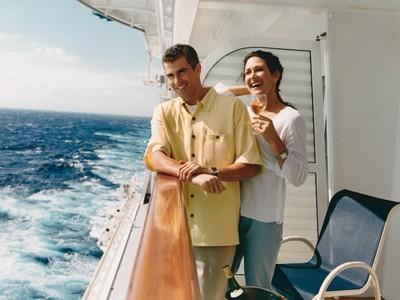 RCI - couple on deck