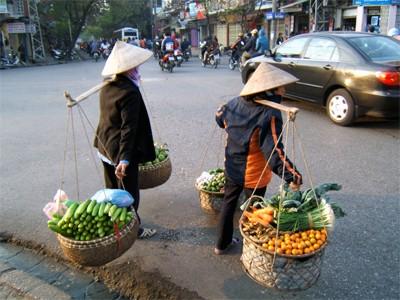 AUTH - Asia - Vietnam - Hanoi - carry basket