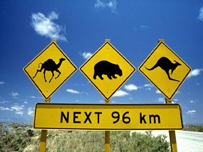 AUTH - AUSTRALIA - Road Signs