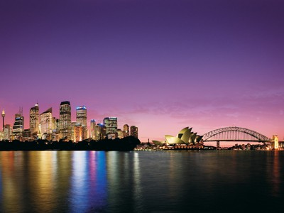 AUTH - AUSTRALIA - Sydney Harbour Night