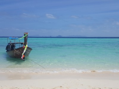 AUTH - Asia - Thailand Boat on Beach