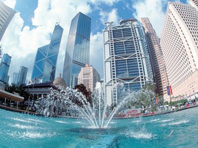 AUTH - Silk Holidays - Hong Kong fountain