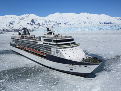 AUTH - CEL - Millennium at Hubbard Glacier - Alaska
