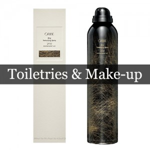 Toiletries & Make up-