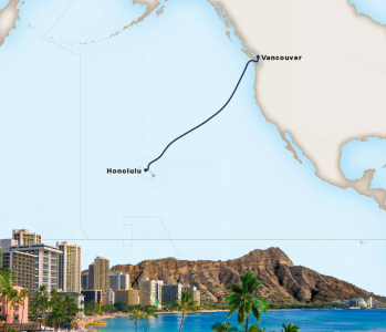 AUTH-HAL South Pacific crossing map