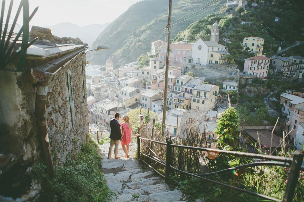 Ramon & Sonia in Cinque Terre for Flytographer